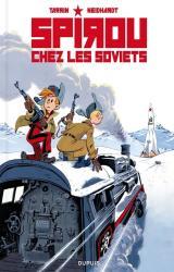 couverture de l'album Spirou chez les Soviets