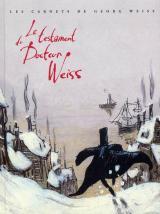 couverture de l'album Le testament du docteur Weiss
