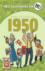 couverture de l'album Mes souvenirs en BD - 1950