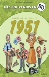 couverture de l'album Mes souvenirs en BD - 1951