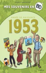 couverture de l'album Mes souvenirs en BD - 1953