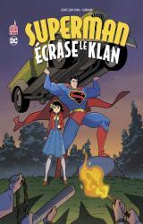 couverture de l'album Superman écrase le Klan