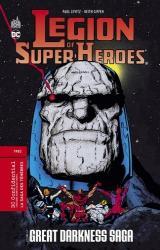 couverture de l'album La Légion des Super-Heroes  - La saga des ténèbres