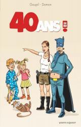 couverture de l'album 40 ans ! En BD