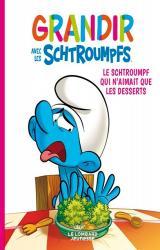 couverture de l'album Le Schtroumpf qui n'aimait que les desserts