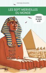 couverture de l'album L'Histoire du monde en BD : Les Sept Merveilles du monde
