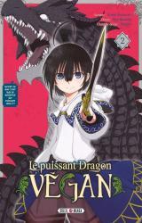 couverture de l'album Le puissant dragon végan T.2