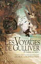couverture de l'album Les voyages de Gulliver  - De Laputa au Japon