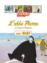 couverture de l'album L'Abbé Pierre et l'espoir d'Emmaüs, en BD