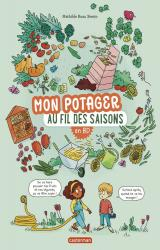 couverture de l'album Mon potager au fil des saisons en BD