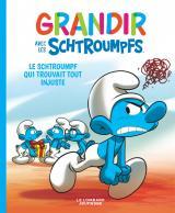 couverture de l'album Le Schtroumpf qui trouvait tout injuste