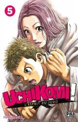 page album Uchikomi ! L'esprit du judo Vol.5