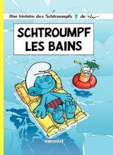 couverture de l'album Schtroumf les Bains (Édition Été BD 2019)