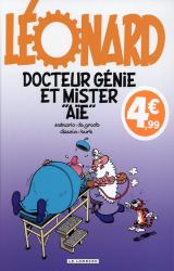 """couverture de l'album Docteur Génie et Mister """"Aïe"""" -  Edition limitée"""