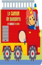 couverture de l'album Le camion de pompiers de Charlie le chien
