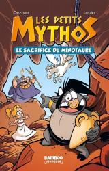 couverture de l'album Le sacrifice du Minotaure