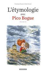 couverture de l'album L'étymologie avec Pico Bogue T.3