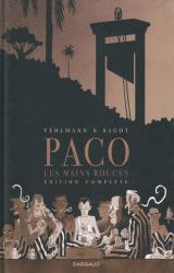 couverture de l'album Paco les mains rouges Intégrale