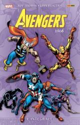 couverture de l'album Integrale Avengers 1968