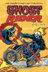 couverture de l'album Ghost Rider Intégrale  T.1 1972-1974