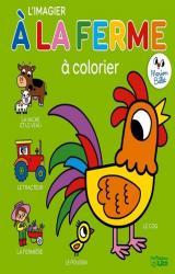 couverture de l'album Coloriage imagier de la ferme