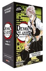 couverture de l'album Demon Slayer - Coffret (T17 + Roman N°01)