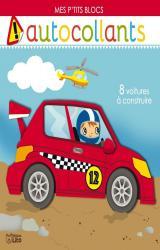 couverture de l'album Mes ptits blocs 8 voitures