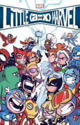 couverture de l'album Little Marvel : A vs X