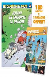 Les Damnés de la route - T.8 Autant en emporte la deuche - Avec Bamboo Mag N° 73, juillet-août-septembre 2021 offert