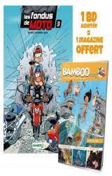 couverture de l'album - Avec Bamboo mag N° 73, juillet, août, septembre 2021 offert