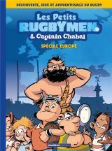 couverture de l'album Les Petits Rugbymen et Captain Chabal - tome 02  - Spécial Europe