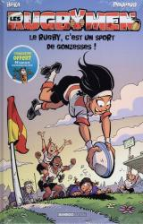 Les Rugbymen - T.18 Le rugby, c'est un sport de gonzesses ! - Avec Bamboo Mag N° 73, juillet-août-septembre 2021 offert