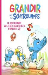 couverture de l'album Le Schtroumpf qui jetait ses déchets n'importe où
