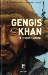 couverture de l'album Gengis Khan et l'empire mongol  - 48H BD 2021