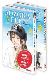 couverture de l'album Aozora Yell Pack découverte T01 acheté + T02 offert