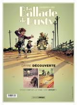 couverture de l'album La Ballade de Dusty - Pack promo histoire complète