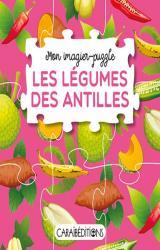 couverture de l'album Mon imagier-puzzle : les légumes des Antilles