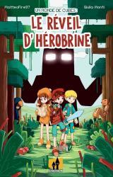 couverture de l'album Un monde de cubes  - Le réveil d'Hérobrine