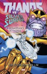 couverture de l'album Thanos Vs Silver Surfer - La renaissance de Thanos