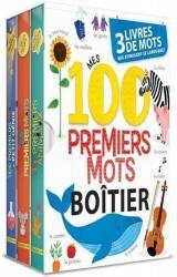 Boitier - Mes 100 premiers mots - 3 livres de mots