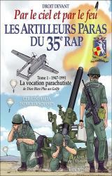 couverture de l'album Les artilleurs paras du 35Eme RAP