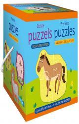 Premiers puzzles - animaux de la ferme