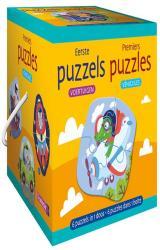 couverture de l'album Premiers puzzles - véhicules