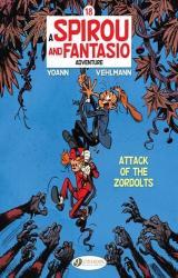 couverture de l'album Spirou & Fantasio Vol. 18 - Attack of the Zordolts  - 18