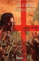 couverture de l'album La Croix sanglante T02 - Terre sainte