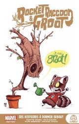 couverture de l'album Rocket Racoon & Groot  - Des histoires à dormir debout