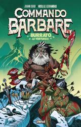 couverture de l'album Commando barbare  - Burrato le vertueux