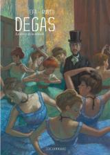 couverture de l'album Degas, la danse de la solitude