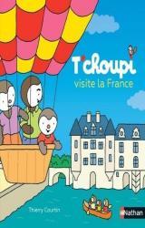couverture de l'album T'choupi visite la France