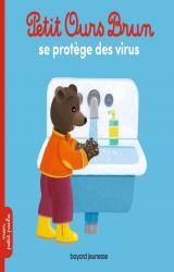 page album Petit Ours Brun se protège des virus